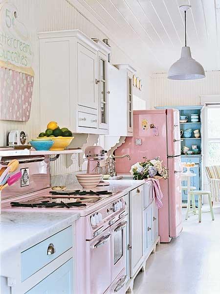 Pastel Kitchens - Panda's House