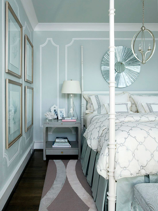 Ideas for bedrooms on pinterest blue bedrooms bedroom Master bedroom light blue walls