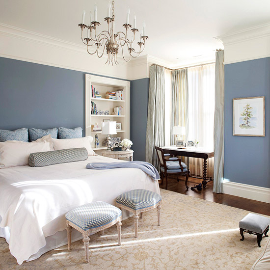 Best Blue For Bedroom Inspiration With Slate Blue Master Bedroom Pictures