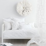 white decor daybed