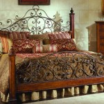 metal work victorian bed