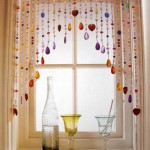 colorful beaded curtains