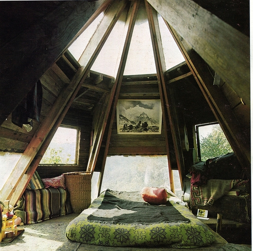 Rafters in the bedroom panda 39 s house - Houses atticbedrooms ...