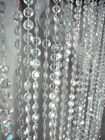 crystal beaded curtain