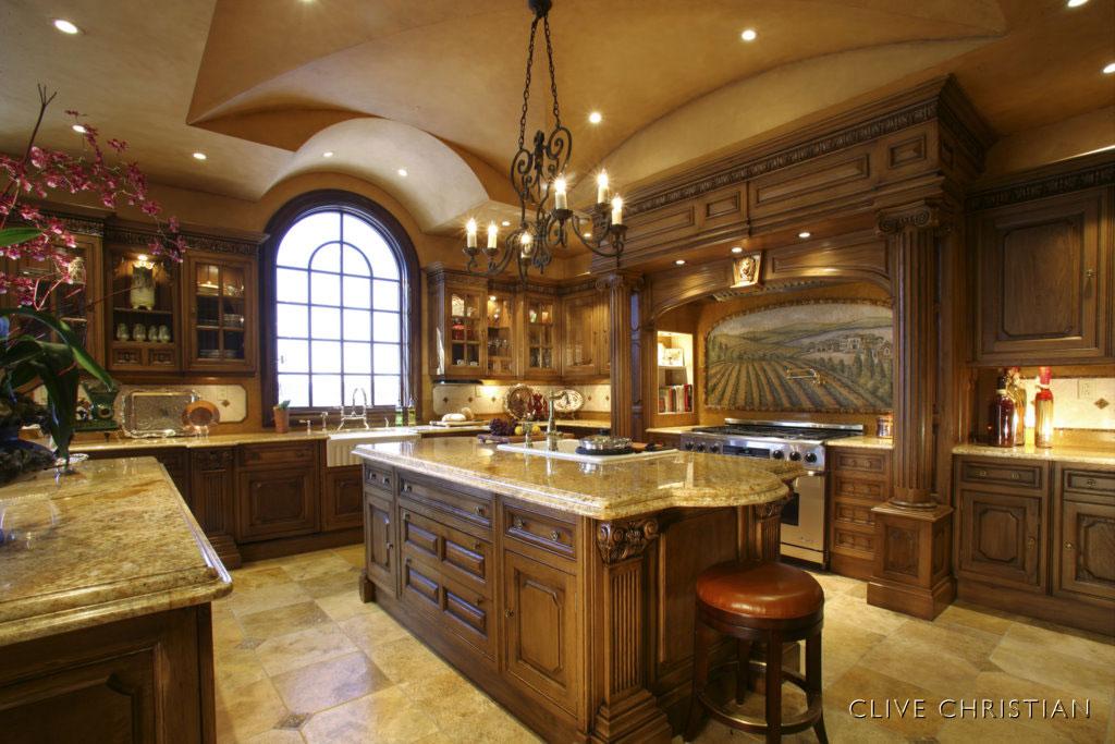 Traditional Italian Kitchens - Panda's House