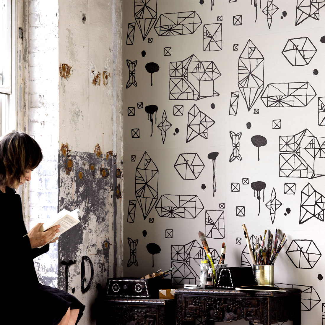 Modern And Unique Wallpaper Ideas Panda 39 S House