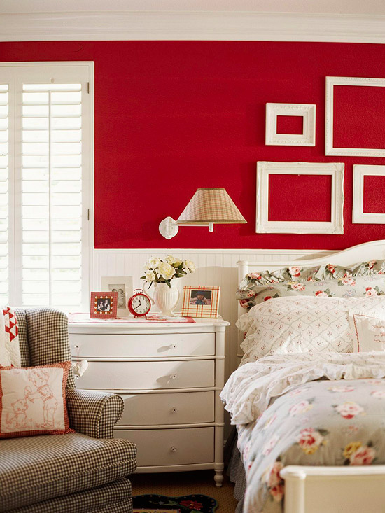bedrooms with red walls panda 39 s house