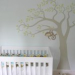 monkey decal nursery