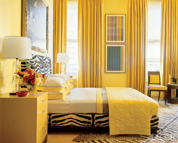 Two zebra print bedrooms panda 39 s house - Decorating with mustard yellow ...