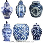 blue ginger jars