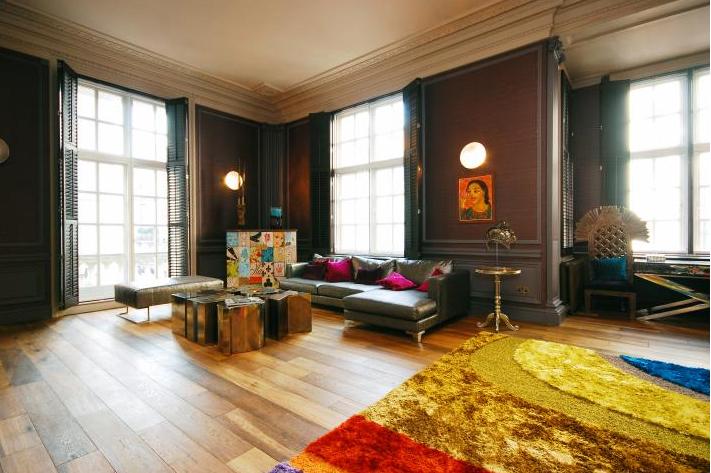Dark Eclectic Living Room Panda 39 S House