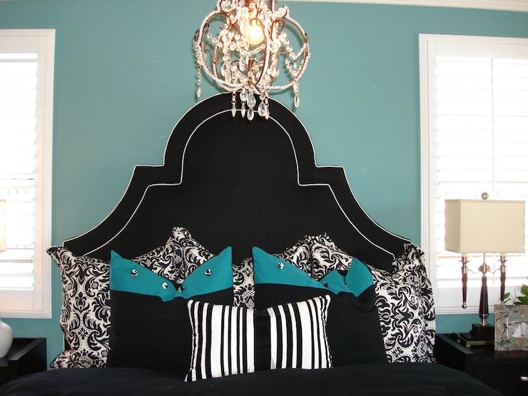 Black Turquoise Bedroom 2 Panda S House