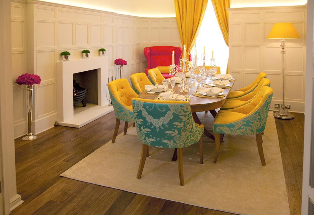 The same dining room, taken from opposite side, via Panda's House