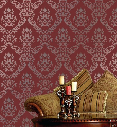 wall damask pencil
