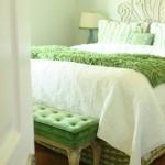 light green bedroom design