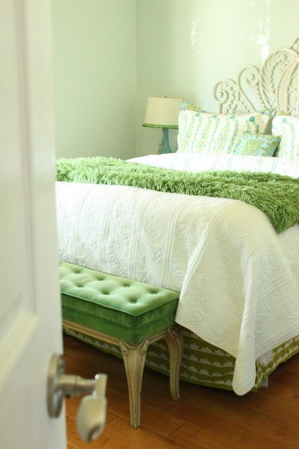 Gallery For Romantic Green Bedrooms