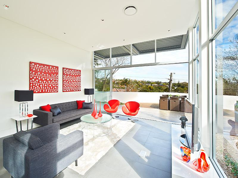 Red And Gray Living Rooms Panda 39 S House
