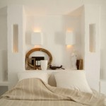rustic white bedroom