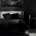 black bedroom idea