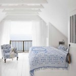 bedroom blue white