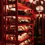 dita von teese shoe closet