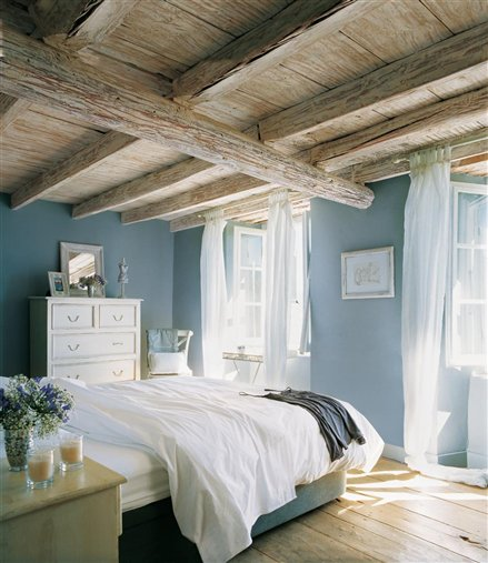 Wooden Ceiling And Light Filled Windows