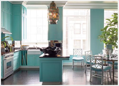 Turquoise kitchen ideas panda 39 s house for Kitchen ideas turquoise