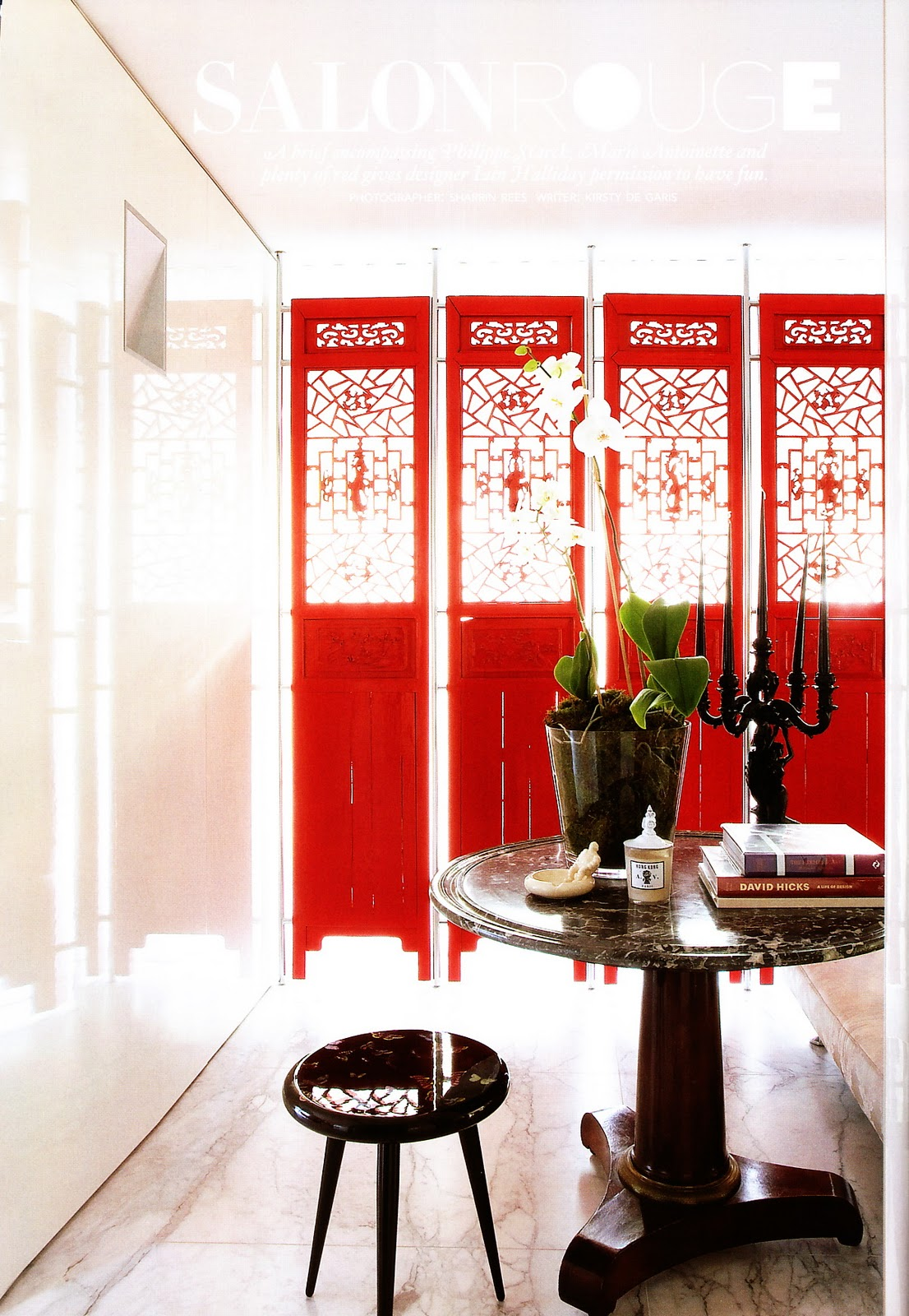 Red and white interior design images - Red white interior design ...