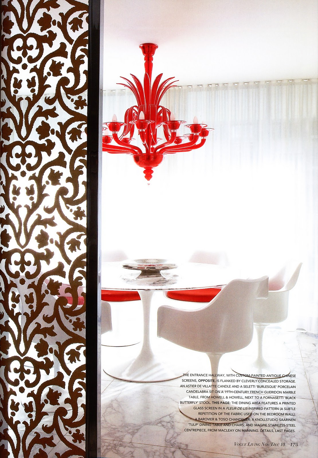 White red interior design 2 panda 39 s house - Red white interior design ...