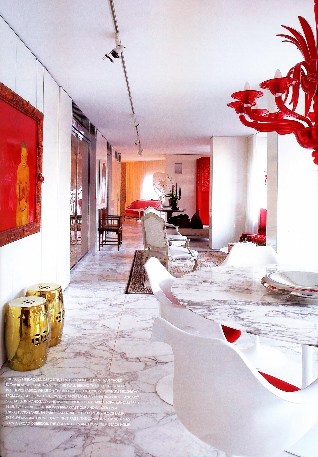 White Red Interior Design 4 Panda 39 S House