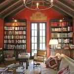 California Monterey Colonial red-interior-design
