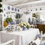 white-blue-dining-room