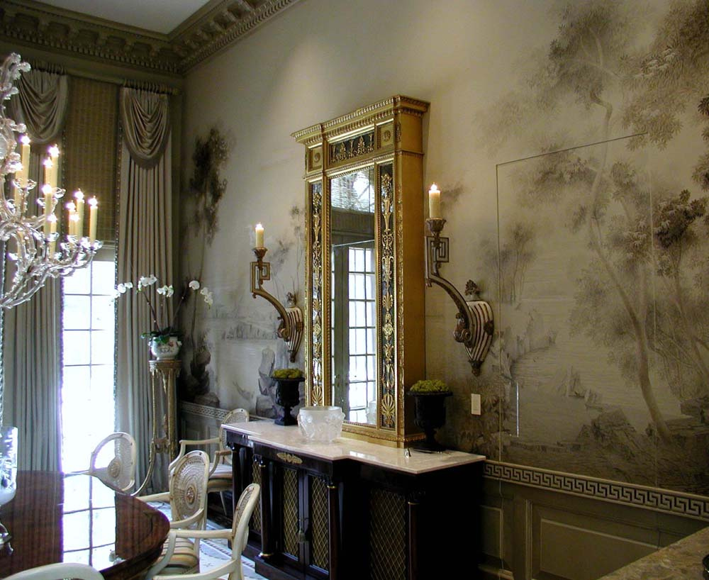 Rooms to remember the classic interiors of suzanne tucker for Mural room white house