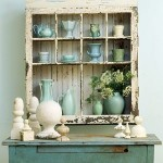 Shabby Chic Blue and Green