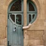 Art Nouveau-door