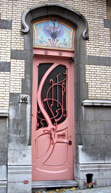 art nouveau doors panda 39 s house