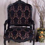 Black_Damask_Velour-chair