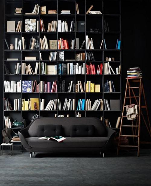 black-couch-bookshelf