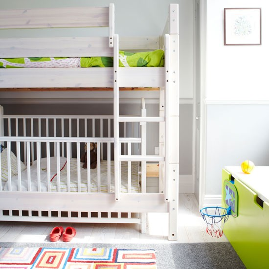 Crib Under Bunk Bed 550 x 550