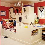 castle-motif-childrens bed