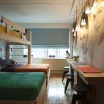 three person bunk bed design