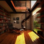 library-spiral-staircase