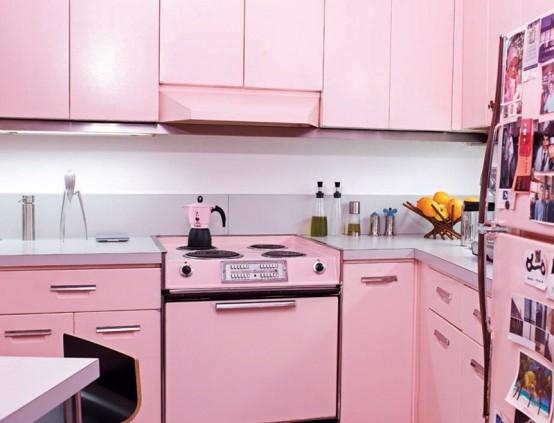 pink-kitchen