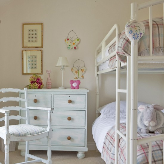 Shabby chic bunk beds panda 39 s house for French country style beds