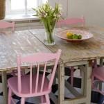 shabby-chic-pink-kitchen