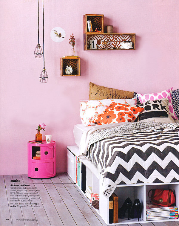 Pink and Black Bedrooms - Panda's House