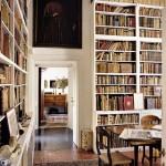 white-bookshelves