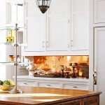 kitchen in white and copper