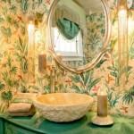 eclectic-green-bathroom