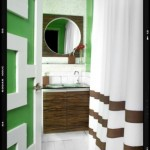 green-brown-white-bathroom
